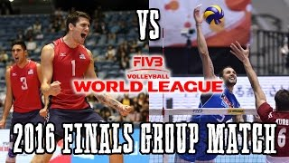 USA vs Italy World League Finals Group 1   FULL MATCH ALL BREAKS REMOVED