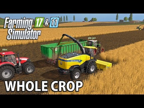 WHOLE CROP | Farming Simulator 17 on FS11 Map - Ep 2