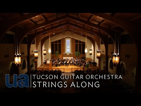 Tucson Guitar Orchestra Strings Along