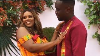 Joe Mettle and Girlfriend Selassie finally ties the knot hit the dance floor  ..traditional wedding
