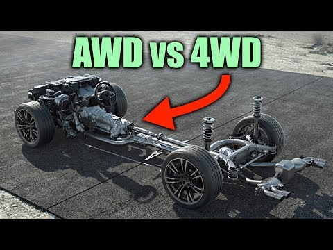 Conversations with Tim Palmer - What's The Difference Between 4WD and AWD?