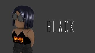 Roblox Lookbook: Black