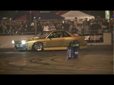 Hot Import Nights - Los Angeles 2009 (Drift Demo with Matt Powers / Chris Forsberg / Joon Maeng)