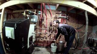 Adding propylene glycol to a heating system - 148 - My DIY Garage Build HD Time Lapse