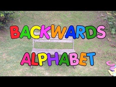 Mr. Palindrome - Backwards Alphabet