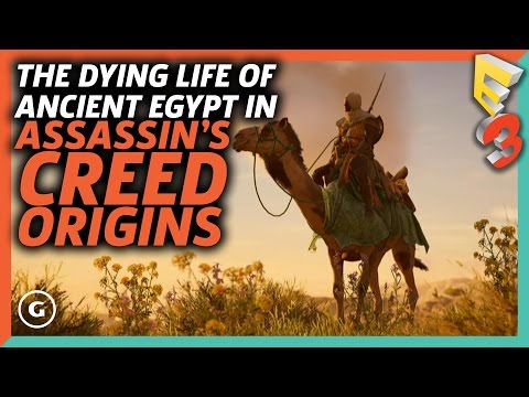 The Dying Life Of Ancient Egypt In Assassin's Creed Origins | E3 2017 GameSpot Show