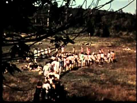 Vintage New Hampshrie State Parks Film from the 1940s # 1 (color version)