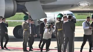 Президент Туркменистана прибыл в Минск