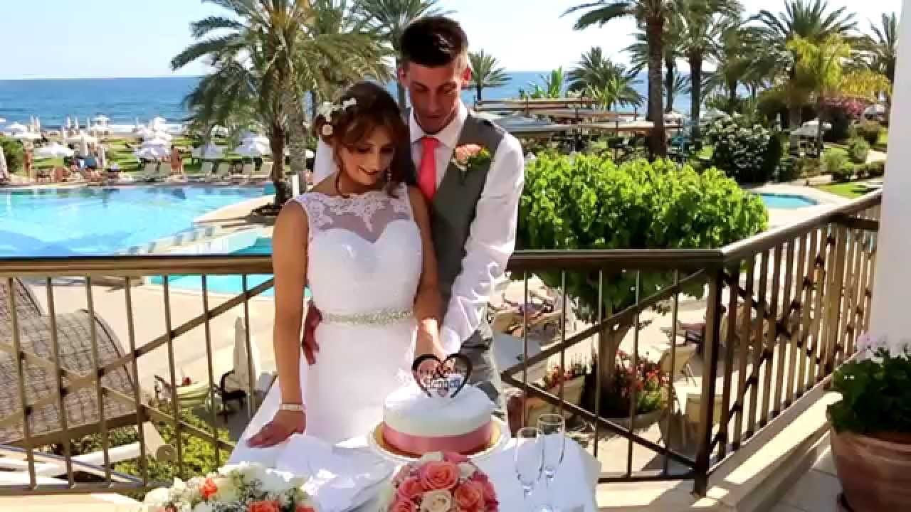 The Cyprus Wedding Of Kerry And Daniel Athena Beach Hotel Paphos You
