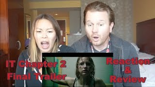 IT Chapter 2 Final Trailer // Reaction & Review