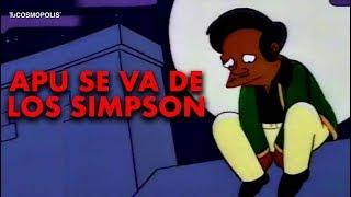 AHORA SÍ APU SE VA DE LOS SIMPSON