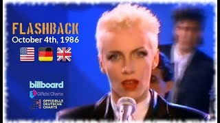 Flashback - October 4th, 1986 (US, German & UK-Charts) Video