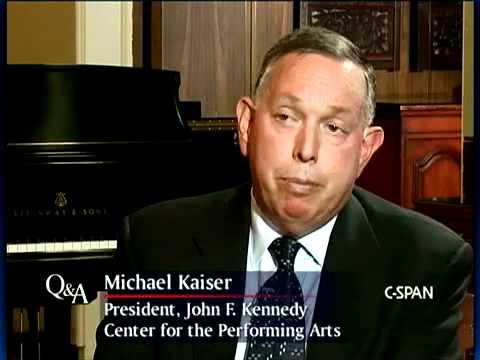 Q&A: Michael Kaiser