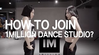 [Eng Sub]How to join the 1MILLION Dance Studio