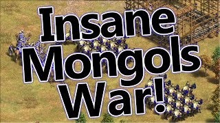 High Level Mongols Gameplay | AoE2 DE
