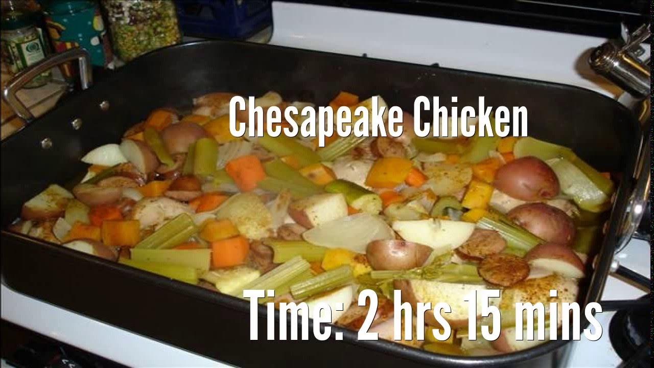 Chesapeake Chicken Recipe - YouTube