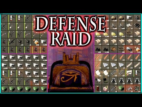 epic 70 SATCHEL CHARGE jackpot RAID + RAID DEFENSE clutch PvP ( Rust Community Highlights | NL )