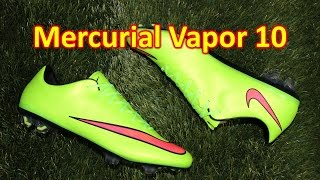 Nike Mercurial Vapor 10 Electric Green - Unboxing + On Feet