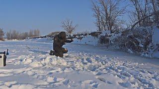 В этом КОРЯЖНИКЕ из лунок выпрыгивает рыба Рыбалка с камерой в лютый мороз