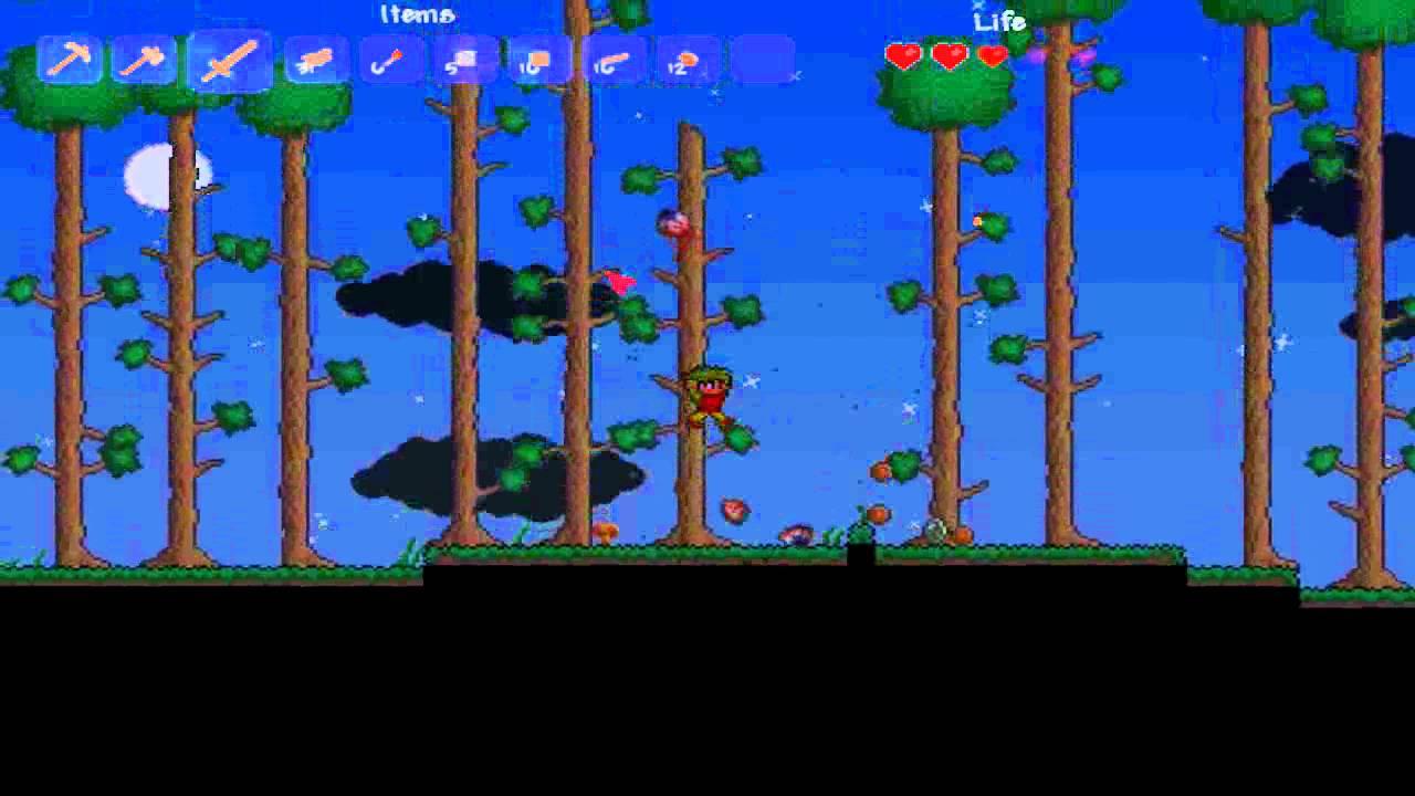 Terraria:Part1: I love 2D games