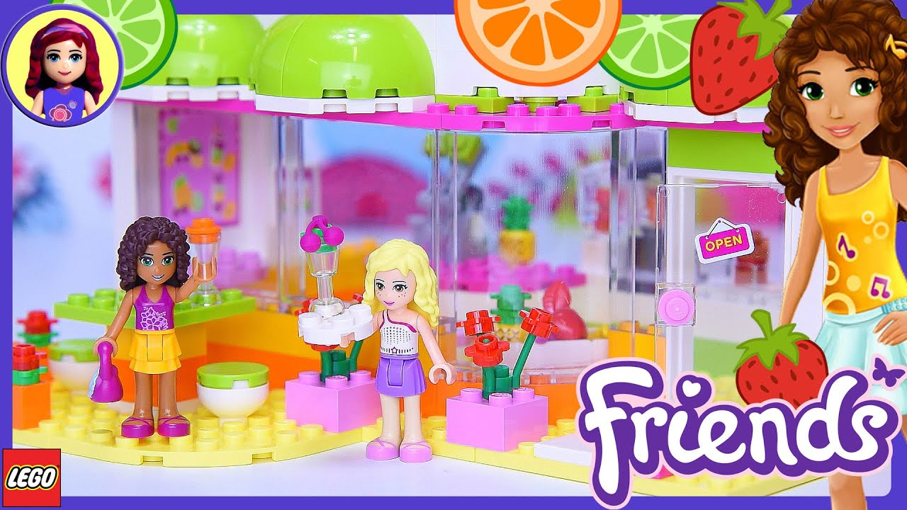 Lego Friends Heartlake Juice Bar Build Review Silly Play Kids Toys