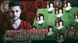 FUTCHAMPIONS WITH A CHEAP SQUAD !!! UNDEFEATED ? FIFA 17 BEST AFFORDABLE SQUAD BUILDER