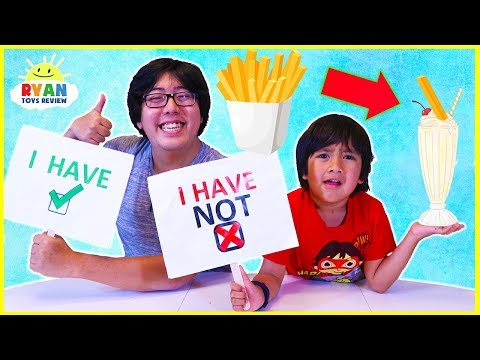 Never Have I Ever Kids Edition with Ryan ToysReview!