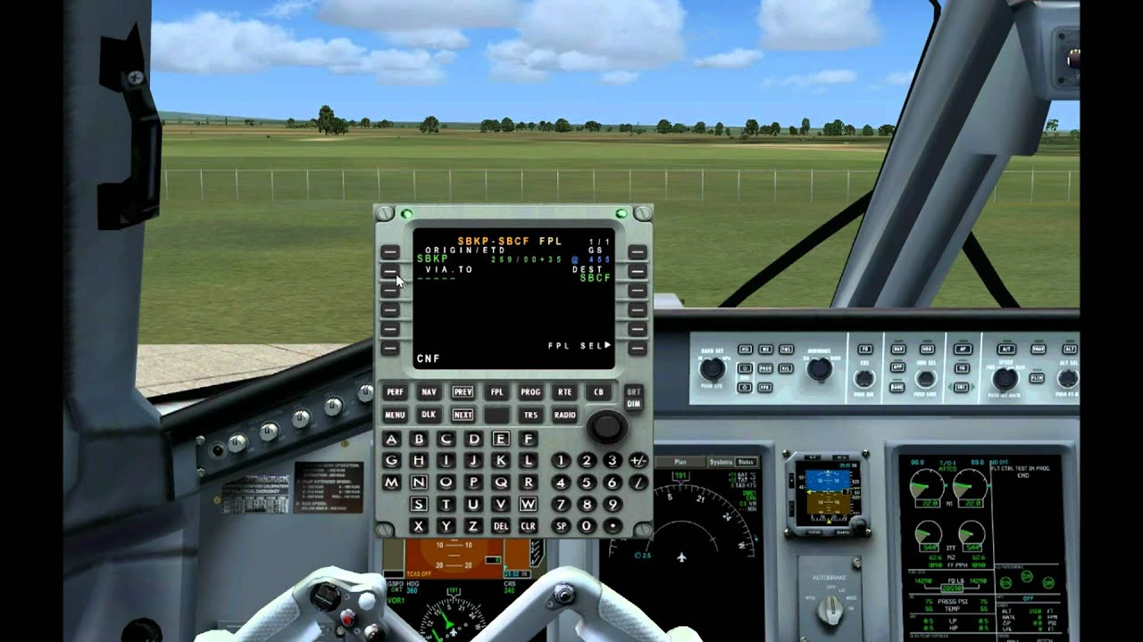 tutorial fmc lnav embraer wilco 190 fsx hd youtube rh youtube com