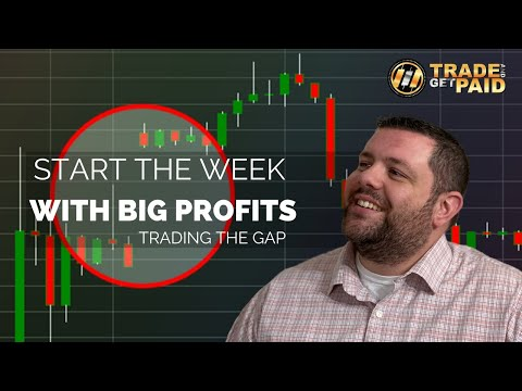 FOREX – How To Start Your Week With BIG PROFITS! – Trading Market Gaps – Forex Strategy