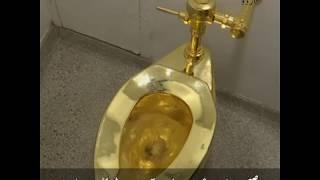 Interesting World News: Gold Toilet Stolen in UK