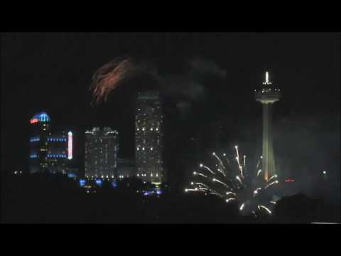 Niagara Falls Fireworks July 2019 Ontario