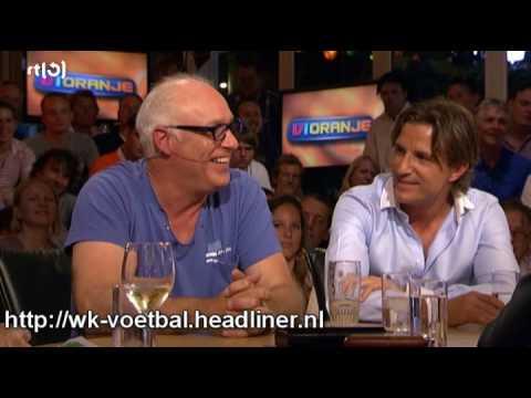 Rene van der Gijp over de lange slurf van Wim Suurbier (VI Oranje)