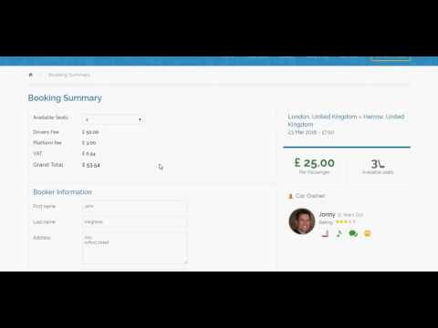 Best Ride Sharing – Car Pooling Ready Made Website & Mobile Apps Script – V3CUBE