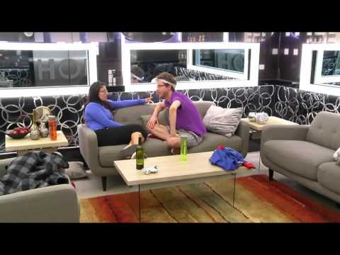 Cassandra tells Joel about her Conversation with Kelsey (Long) - Big Brother Canada 4