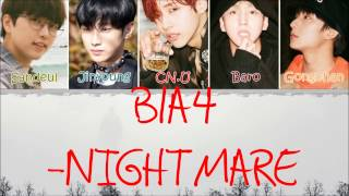B1A4 - Nightmare (?? ) [Lyric] MP3