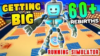 GETTING BIG in Roblox Sprinting Simulator 60+ REBIRTHS (Running Fast Simulator)