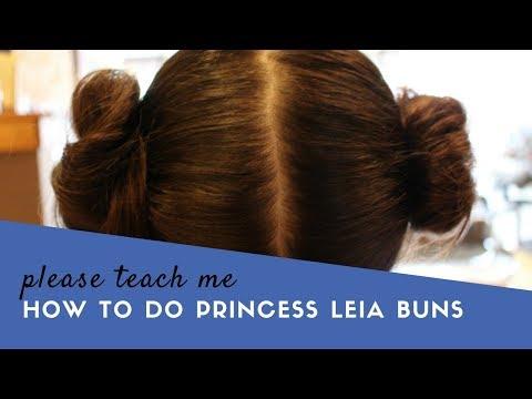 Princess Leia Buns Tutorial
