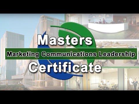 Masters Certificate In Marketing Communications Leadership