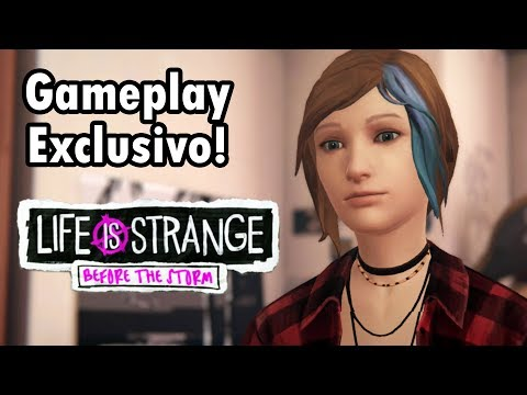 PREVIEW GAMEPLAY EXCLUSIVO - LIFE IS STRANGE BEFORE THE STORM EPISÓDIO 3 em Português PT-BR!