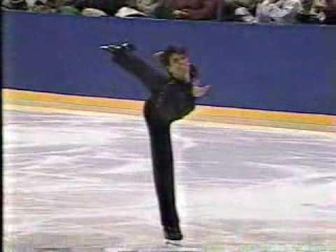 Mark Mitchell 1994 Nikon Skating Championships AP