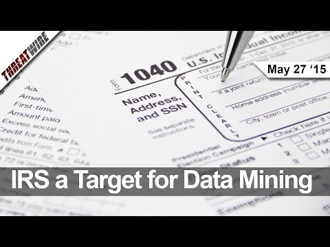 Data Mining the IRS Website, Adult Friend Finder Hacked, and NSA Collections on Hold - Threat Wire