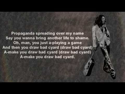 Bob Marley - Bad Card (w/Lyrics)