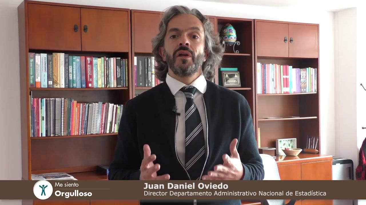 Me siento orgulloso - Juan Daniel Oviedo, director del DANE - YouTube