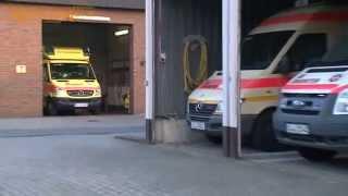 Unfassbare Taten - Rettungsfahrzeug an Radmuttern manipuliert (02.10.2014)