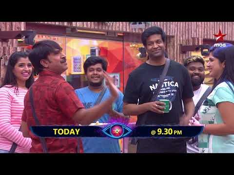 #SrinivasReddy & #VennelaKishore makes entry. #BiggBossTelugu2 Today at 9:30 PM
