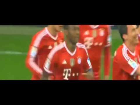 Arjen Robben Goal & FC Bayern Munich vs Schalke 5 1 & 01 03 14
