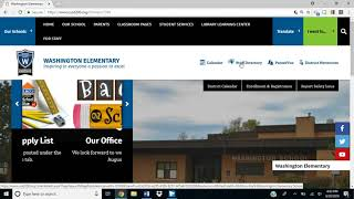 New Elementary Websites