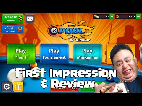8 Ball Pool™ by Miniclip - First Impression & Review