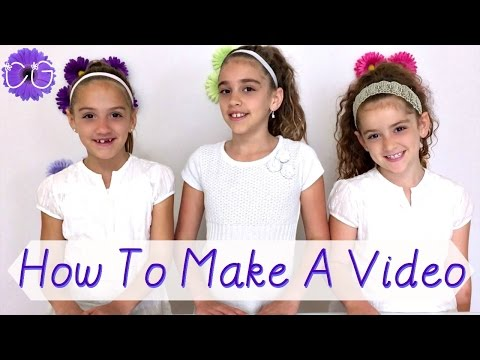 HOW TO MAKE A VIDEO!  FILM & EDIT TIPS FOR KIDS!