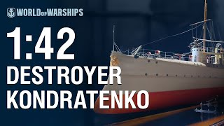 World of Warships - 1:42 Scale General Kondratenko